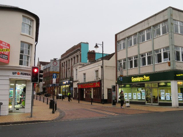 West end of Winchester Street