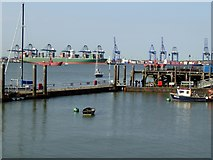 TM2532 : Ha'penny Pier, Harwich by Oliver Dixon