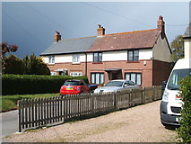 TM1928 : Houses on Harwich Road, Great Oakley by JThomas