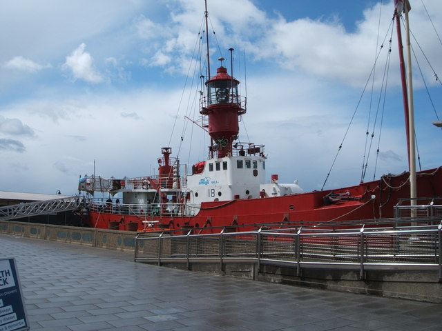 LV18 The last manned Trinity House lightvessel, Harwich