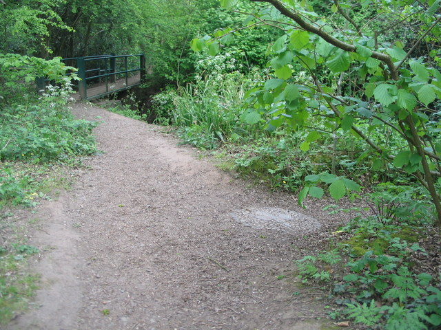 Footpath at Canley Ford