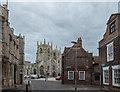 TF6119 : Looking towards the Minster, King's Lynn, Norfolk by Christine Matthews