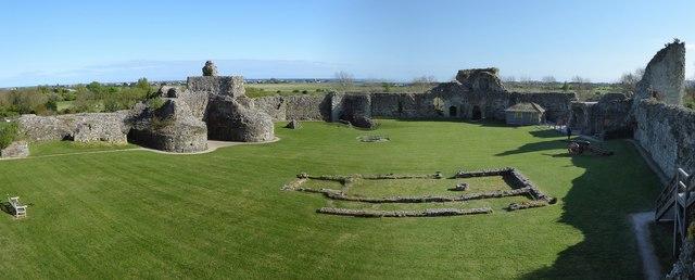 Pevensey Castle - Inner Bailey