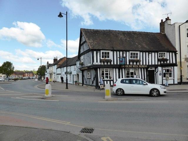Junction of Vine Street and Merston Green, Evesham