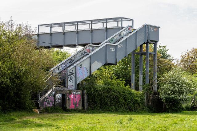 Footbridge over Railway