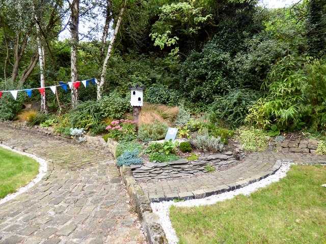Gardens at Hindley Station