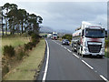 NH9622 : HGV Travelling east on the A95 by David Dixon