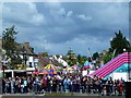 TL1689 : Stilton Cheese Rolling Festival 2017 - Crowds near the finish line by Richard Humphrey