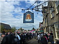TL1689 : Stilton Cheese Rolling Festival 2017 - Near The Bell Inn by Richard Humphrey