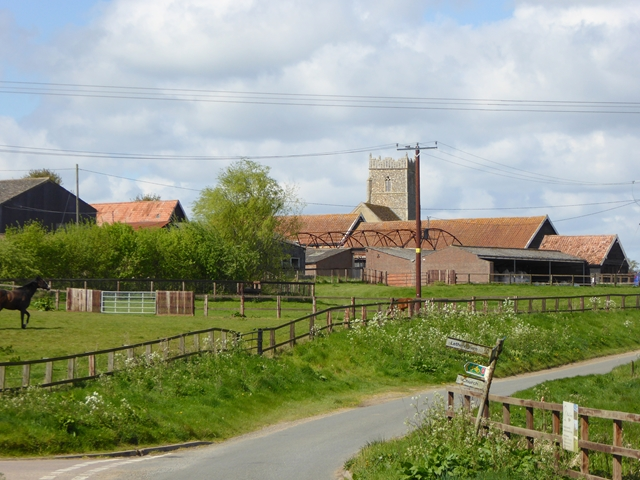 Abbey Farm and St Mary's Church, Letheringham