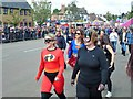 TL1689 : Stilton Cheese Rolling Festival 2017 - The Super Heroes Team by Richard Humphrey