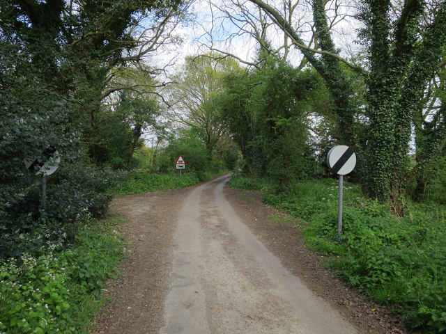 Minor road from Sloley