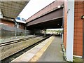 SJ8198 : Lines at Salford Crescent by Gerald England