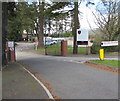 ST3091 : Entrance to Rougemont School, Newport by Jaggery