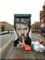 SJ8498 : Street Art in Stevenson Square by Gerald England