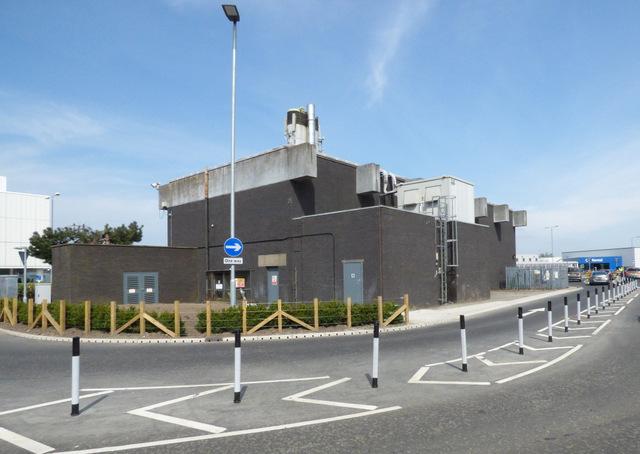 Glasgow Airport boiler house