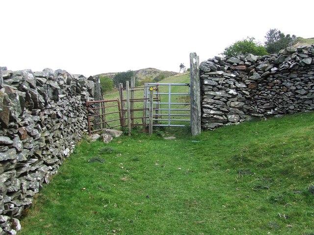 Kissing Gate And Walls