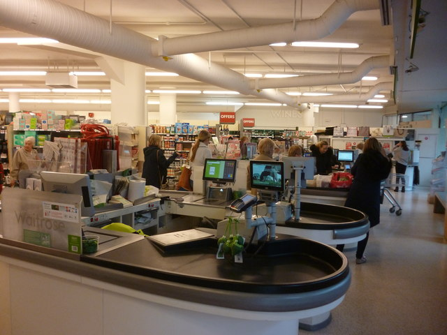 Coulsdon:  Waitrose supermarket