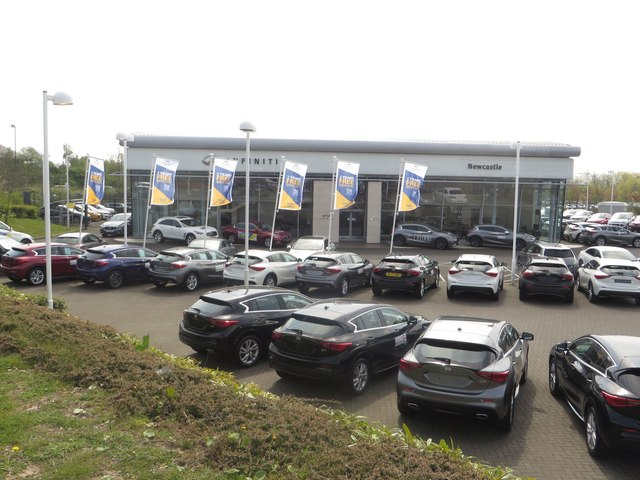Infiniti car dealership, Cobalt Business Park