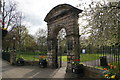 NY9364 : War memorial arch by Bill Boaden