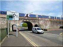 NS3174 : William Street railway bridge by Thomas Nugent