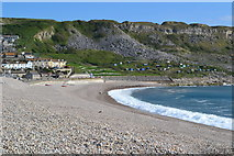 SY6873 : Chesil Cove by David Martin