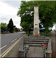 TQ1568 : Steps up to Molesey War Memorial in East Molesey by Jaggery