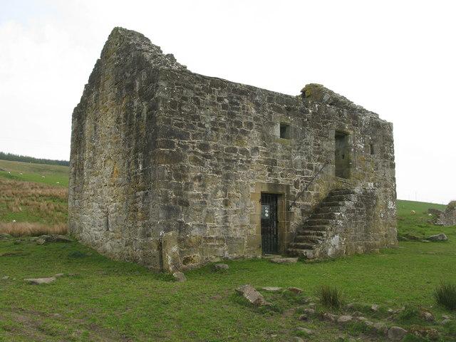 Black Middens Bastle House