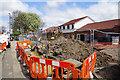NZ3167 : Construction site on Churchill Street by Bill Boaden