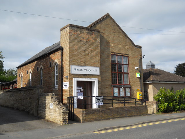 Polling station at Glinton Village Hall