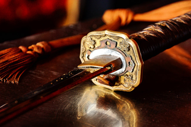 Sword Hilt Detail