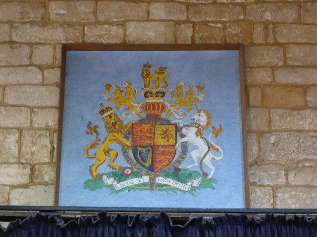 Church of All Saints: Royal Arms