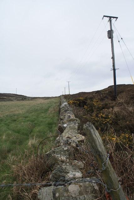 Pasture, Moorland, and Wall