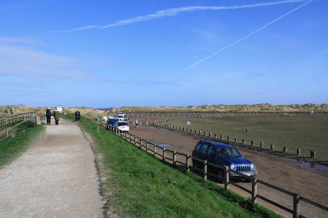 Sea Wall and Car Park