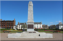 NS3321 : War Memorial Wellington Square Gardens, Ayr by Billy McCrorie