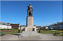 NS3321 : Archibald William Memorial statue, Earl of Eglinton, Ayr by Billy McCrorie