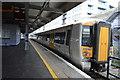 TQ8109 : Platform 1, Hastings Station by N Chadwick