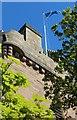 NS3322 : St. John's Tower, Ayr by Billy McCrorie
