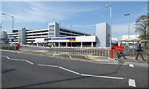 NS4865 : Glasgow Airport drop-off and pick-up facility by Thomas Nugent