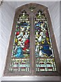 TG3018 : St John, Hoveton: stained glass window (b) by Basher Eyre