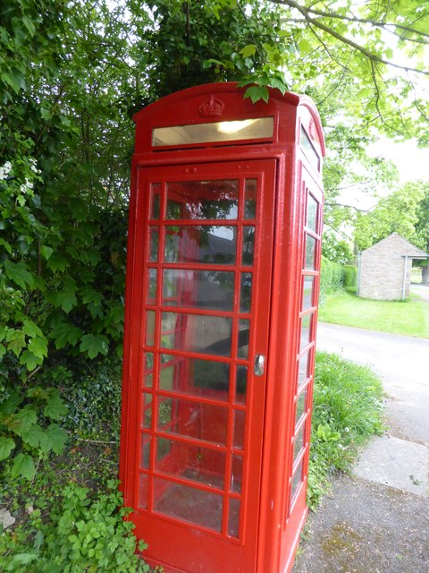 Empty phone box
