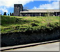 SN9347 : Hilltop church in Llangammarch Wells, Powys by Jaggery