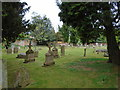 SU8284 : St Mary the Virgin Churchyard, Hurley by Paul Gillett
