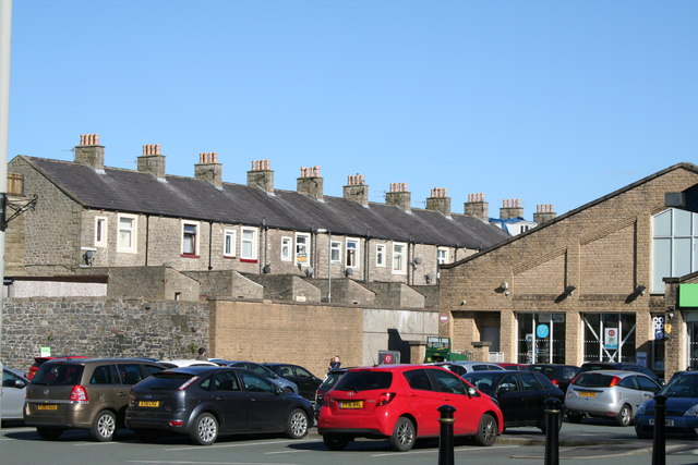 Barnoldswick:  View from the Co-op Car Park