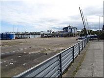 J5182 : Empty yacht park at Ballyholme Yacht Club by Eric Jones