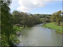 SE7365 : The River Derwent above Kirkham Bridge by Jonathan Thacker