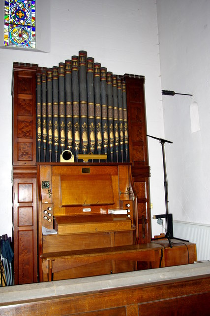 Organ in St Mary's Church