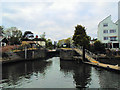 SU8586 : Entering Marlow Lock by Paul Gillett