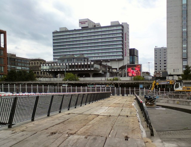 Planks at Piccadilly Gardens