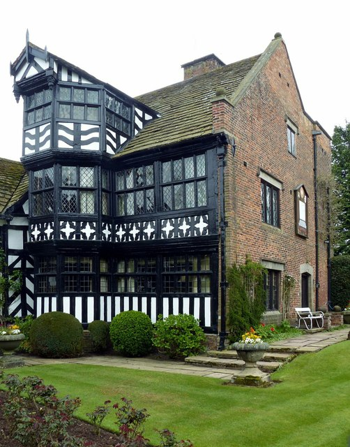 Gawsworth Hall, south wing